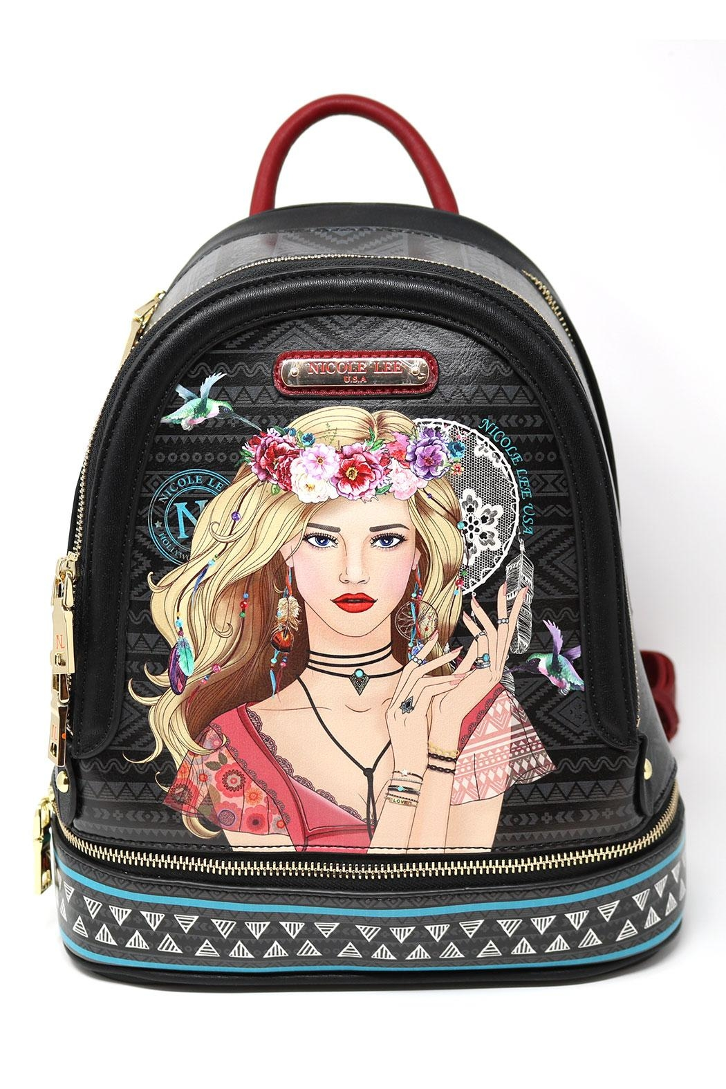 Nicole Lee Backpack - Front Full Image