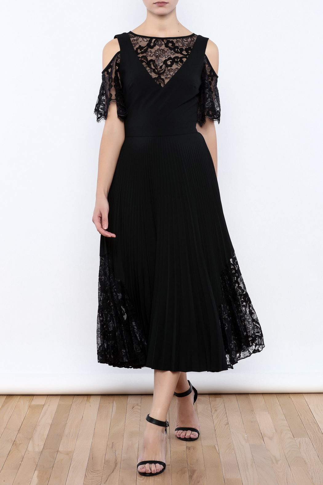 Nicole Miller Black Illusion Dress from Wallingford by The Dressing ...