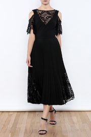 Nicole Miller Black Illusion Dress - Product Mini Image