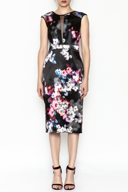 Nicole Miller Floral Dress - Front full body