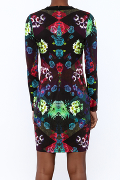 Nicole Miller Floral Shift Dress - Alternate List Image