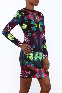 Nicole Miller Floral Shift Dress - Product List Image