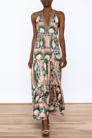Nicole Miller Floral Silk Dress - Product Mini Image