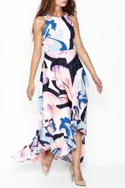Nicole Miller High Low Maxi Dress - Front cropped
