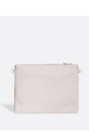 Pixie Mood Nicole Pouch Large – Cloud / Cork - Front full body