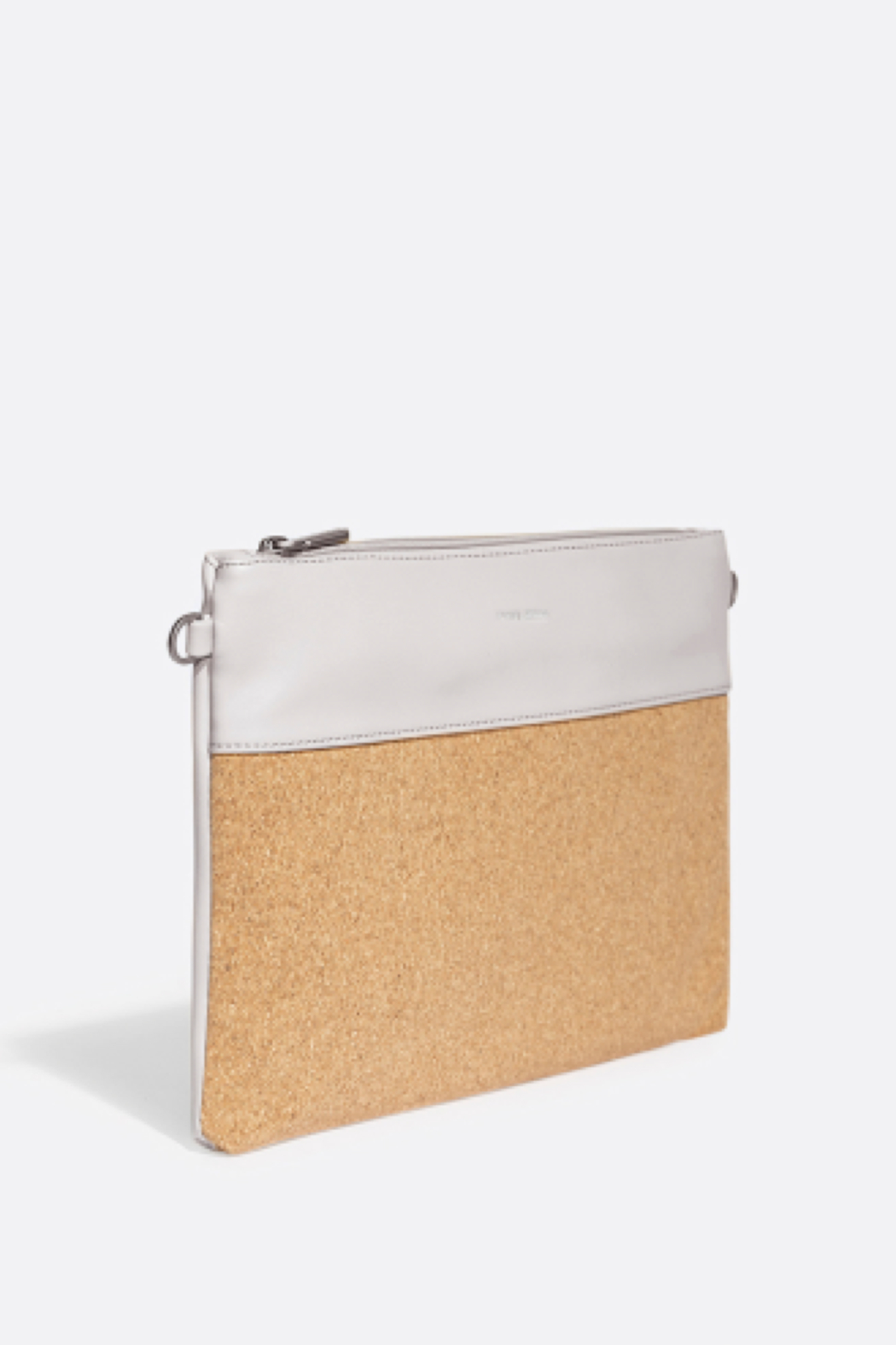 Pixie Mood Nicole Pouch Large – Cloud / Cork - Front Cropped Image