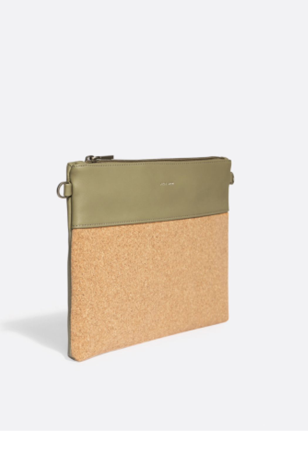 Pixie Mood Nicole Pouch Large – Sage / Cork - Side Cropped Image