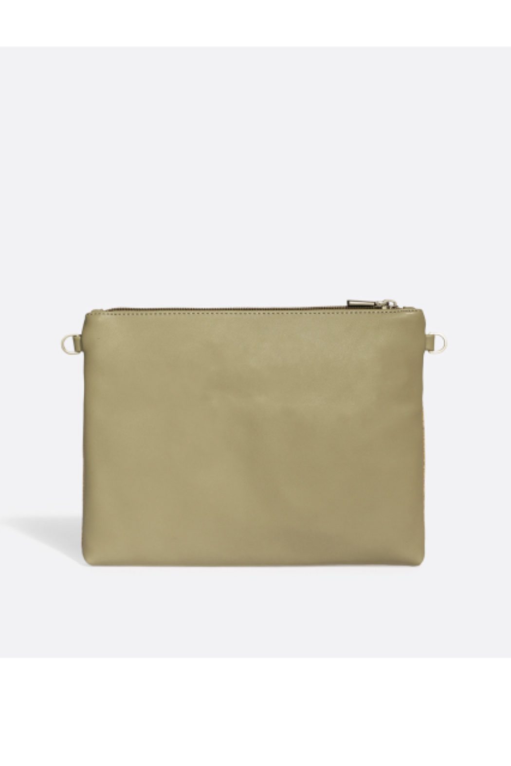 Pixie Mood Nicole Pouch Large – Sage / Cork - Front Full Image