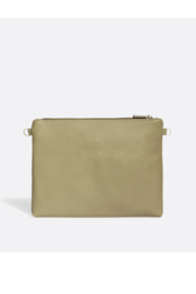 Pixie Mood Nicole Pouch Large – Sage / Cork - Front full body