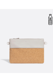 Pixie Mood Nicole Pouch Small – Cloud / Cork - Product Mini Image