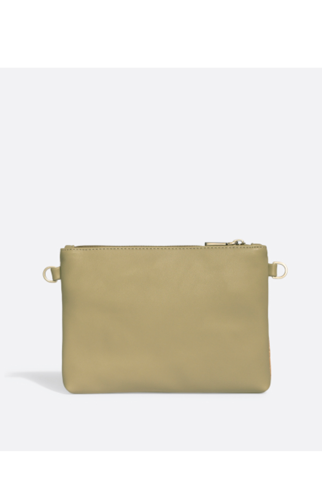 Pixie Mood Nicole Pouch Small – Sage / Cork - Front Full Image