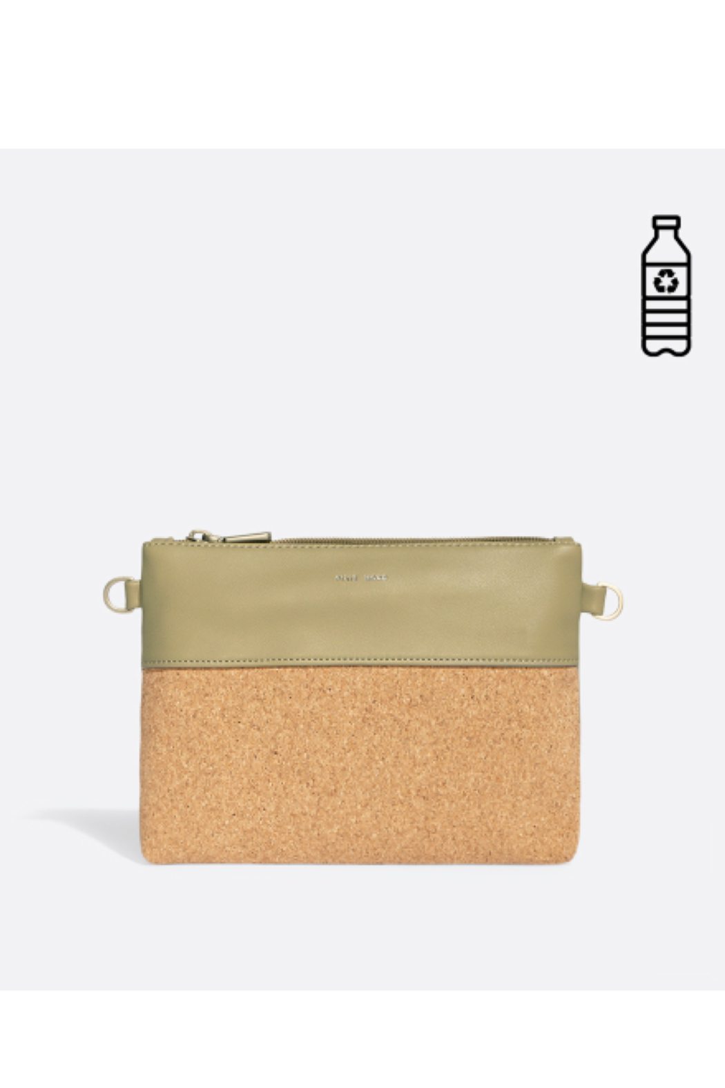 Pixie Mood Nicole Pouch Small – Sage / Cork - Main Image