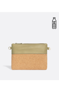 Pixie Mood Nicole Pouch Small – Sage / Cork - Product List Image