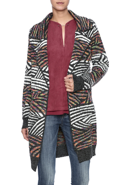 Shoptiques Product: Multi Zebra Cardigan