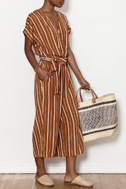Sensemill Nicole Striped Jumpsuit - Product Mini Image