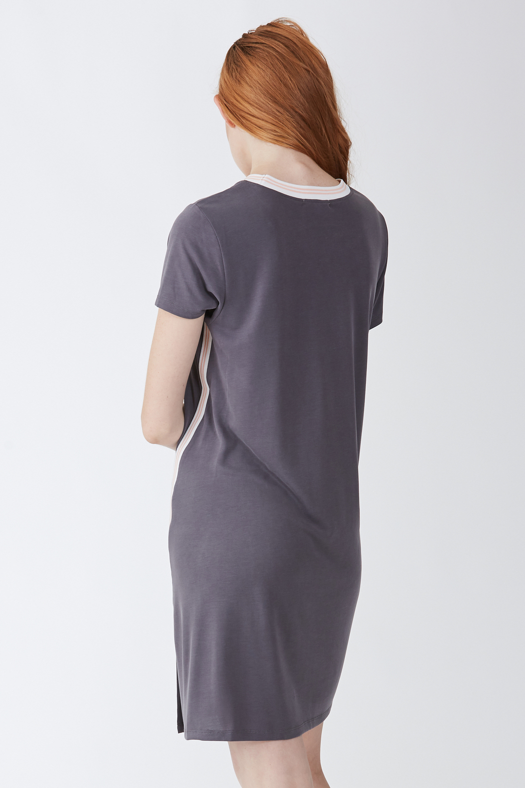 Another Love  Nicole Tee Dress - Side Cropped Image