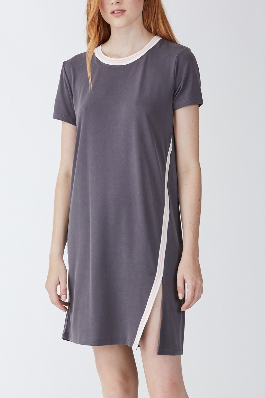 Another Love  Nicole Tee Dress - Front Cropped Image