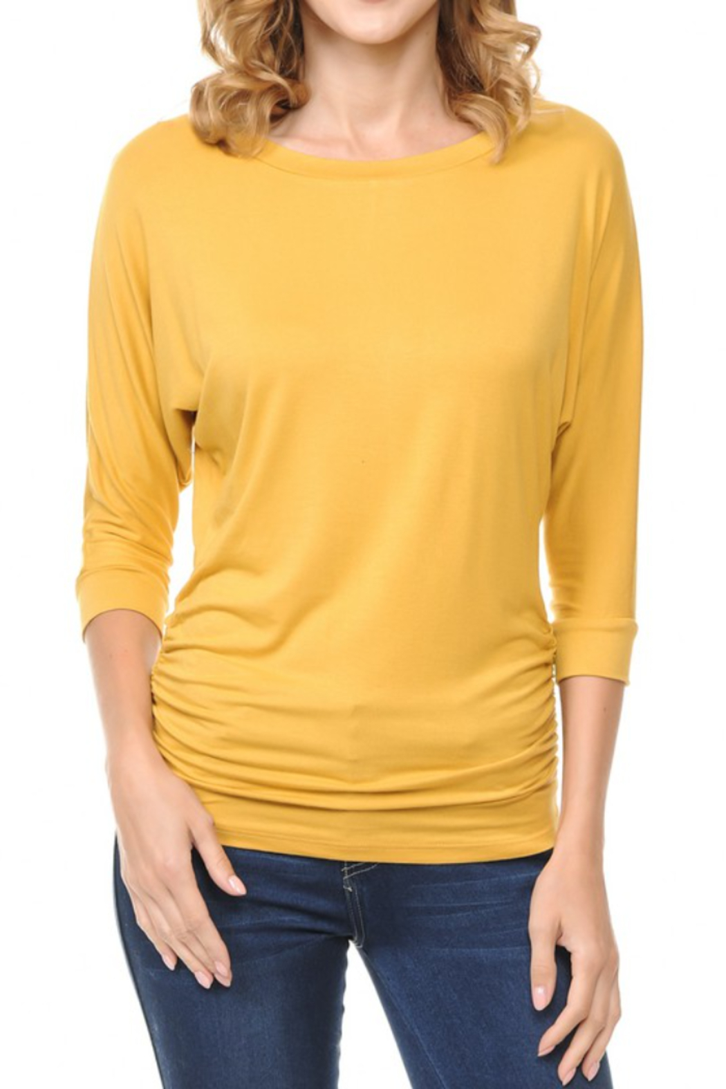 i bstylish  NICOLE TOP - Front Cropped Image