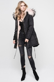 Nicole Benisti Chelsea Fur-Lined Parka - Front cropped