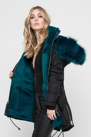 Nicole Benisti Chelsea Fur-Lined Parka - Front full body