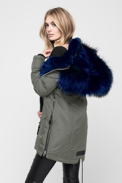 Nicole Benisti Chelsea Fur-Lined Parka - Alternate List Image