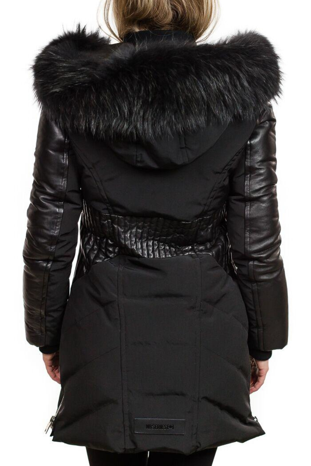 Nicole Benisti Courcheval Down Coat - Side Cropped Image