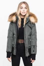 Nicole Benisti Fordham Down Bomber - Front cropped