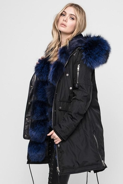 Nicole Benisti Madison Fur-Lined Parka - Alternate List Image