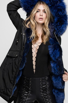 Nicole Benisti Madison Fur-Lined Parka - Product List Image