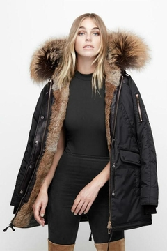 Shoptiques Product: Melrose Fur-Lined Parka
