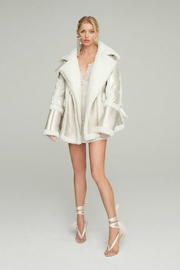 Nicole Benisti Montaigne Shearling Puffer - Front cropped