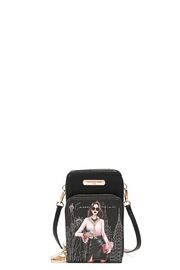 Nicole Lee Career Woman Phone Case Crossbody Wallet - Front cropped