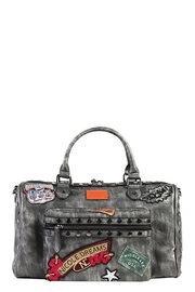 Nicole Lee Chrome Boston Bag - Front cropped