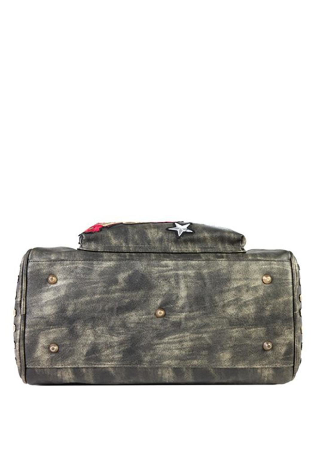 Nicole Lee Chrome Boston Bag - Back Cropped Image