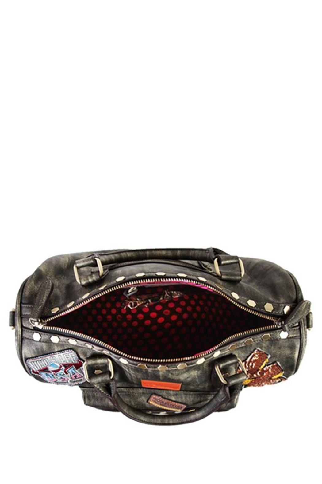 Nicole Lee Chrome Boston Bag - Side Cropped Image