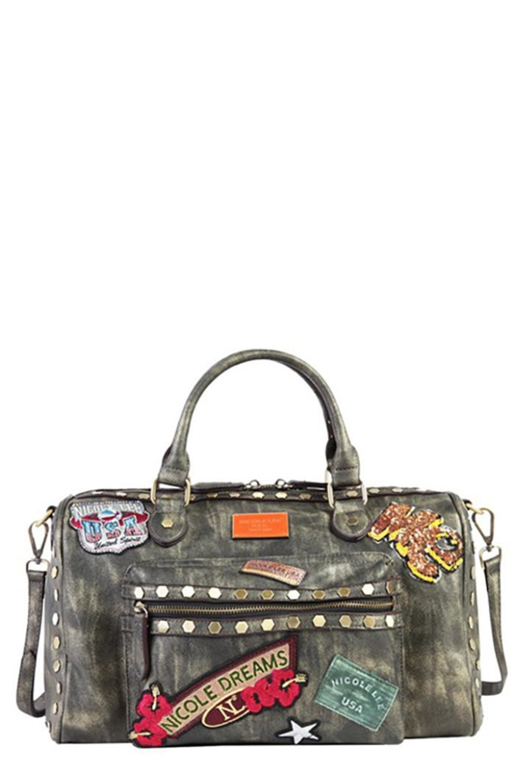 Nicole Lee Chrome Boston Bag - Main Image