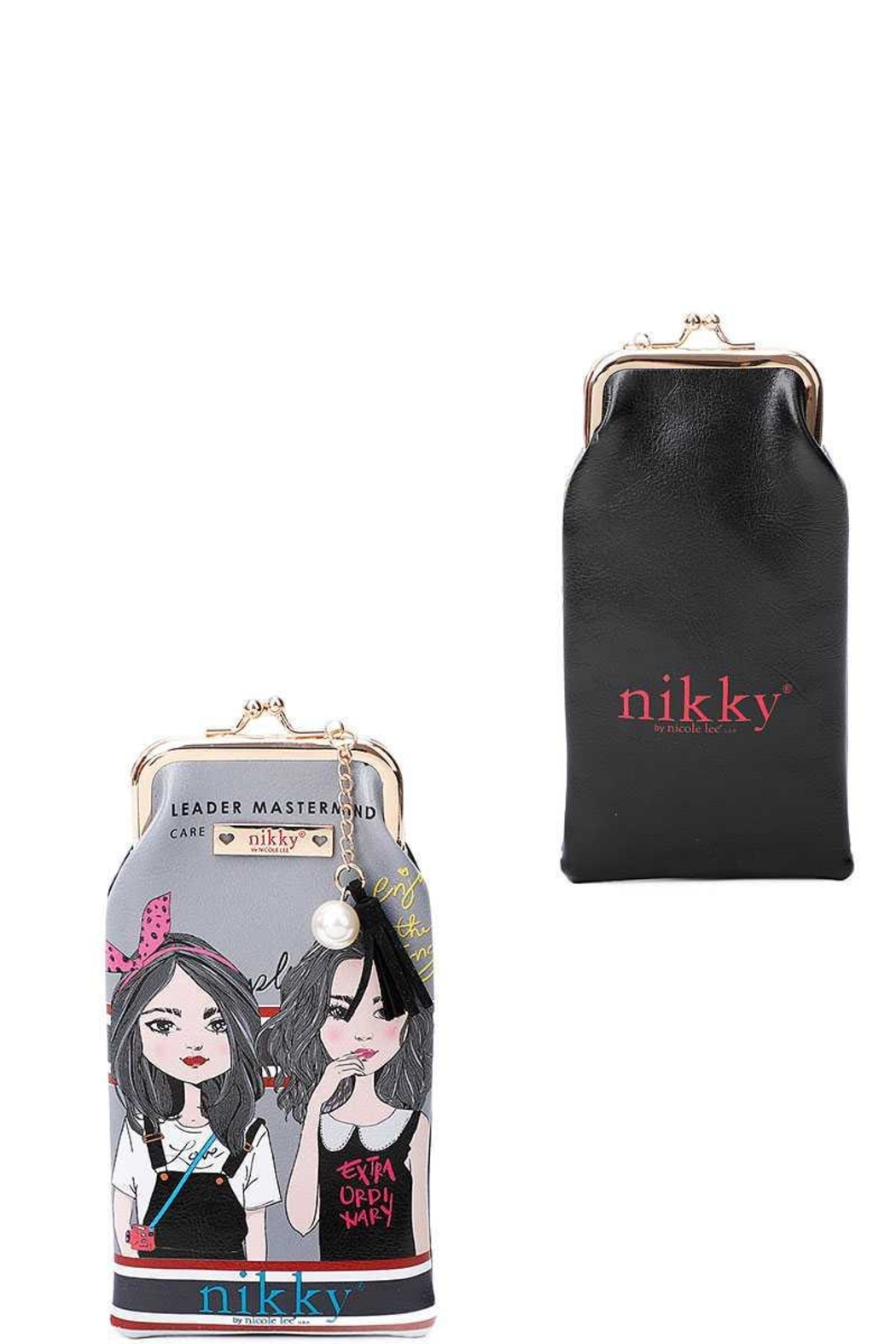 Nicole Lee Coin Purse Sun Glass Case - Front Cropped Image