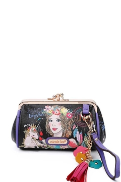 Nicole Lee Mini Purse With Wristlet - Alternate List Image