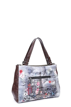 Nicole Lee Paris In Fall Satchel Bag - Alternate List Image