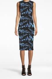 Nicole Miller Blue Floral Dress - Product Mini Image