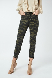 Nicole Miller Camo Print Jeans - Front cropped