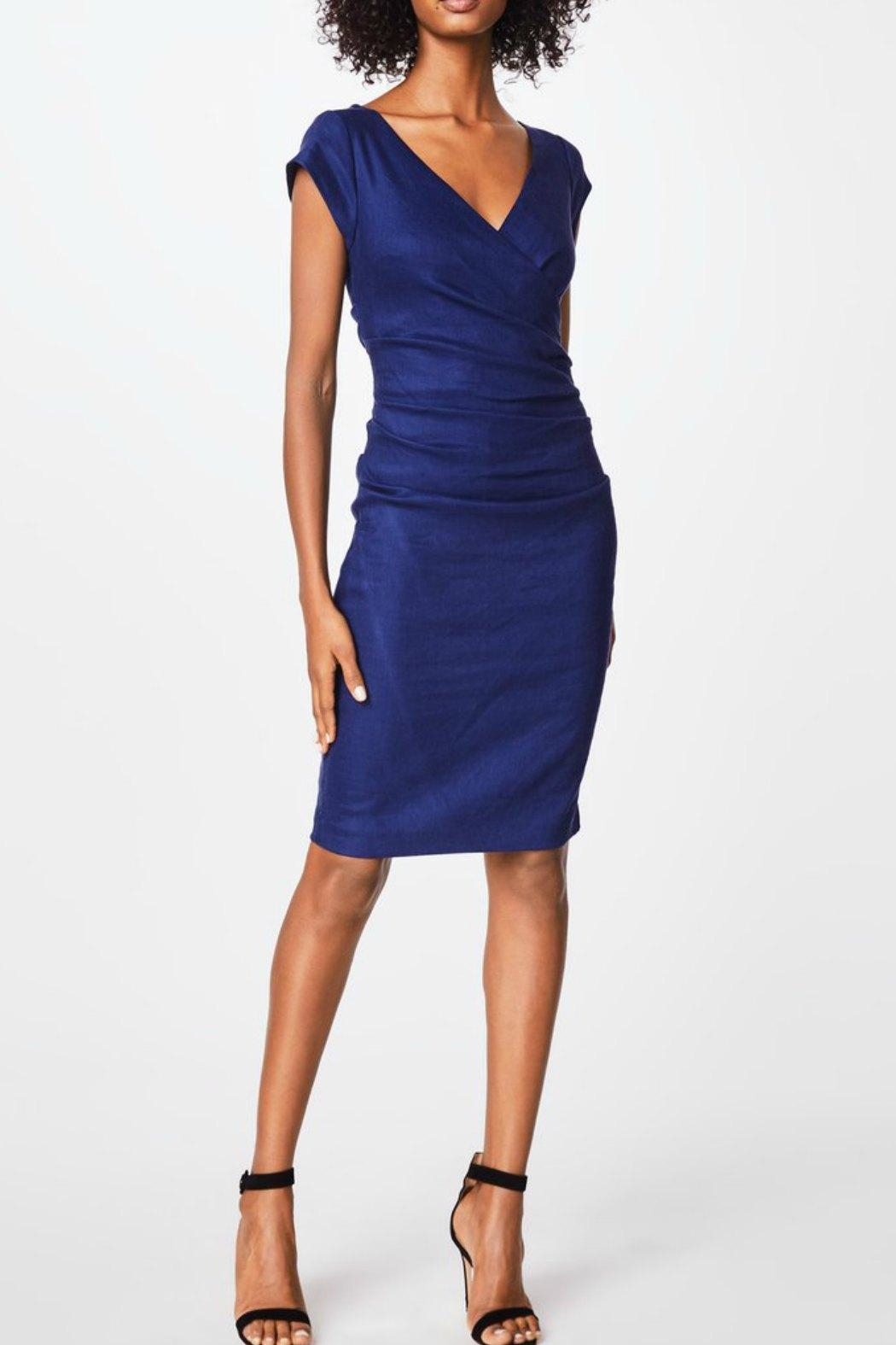 Nicole Miller Cap Sleeve Dress - Main Image