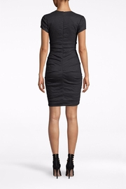 Nicole Miller Cotton Metal Dress - Front full body