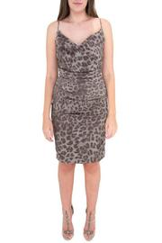 Nicole Miller Cowl Neck Dress - Product Mini Image
