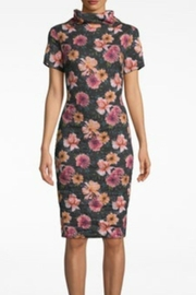 Nicole Miller Dahlia High-Neck Dress - Front cropped