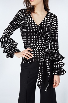 Shoptiques Product: Dotty Wrap Top