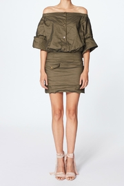 Nicole Miller Eliza Shoulder Dress - Product Mini Image