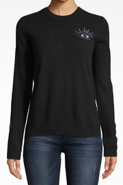 Nicole Miller Evileye Crew-Neck Sweater - Product Mini Image