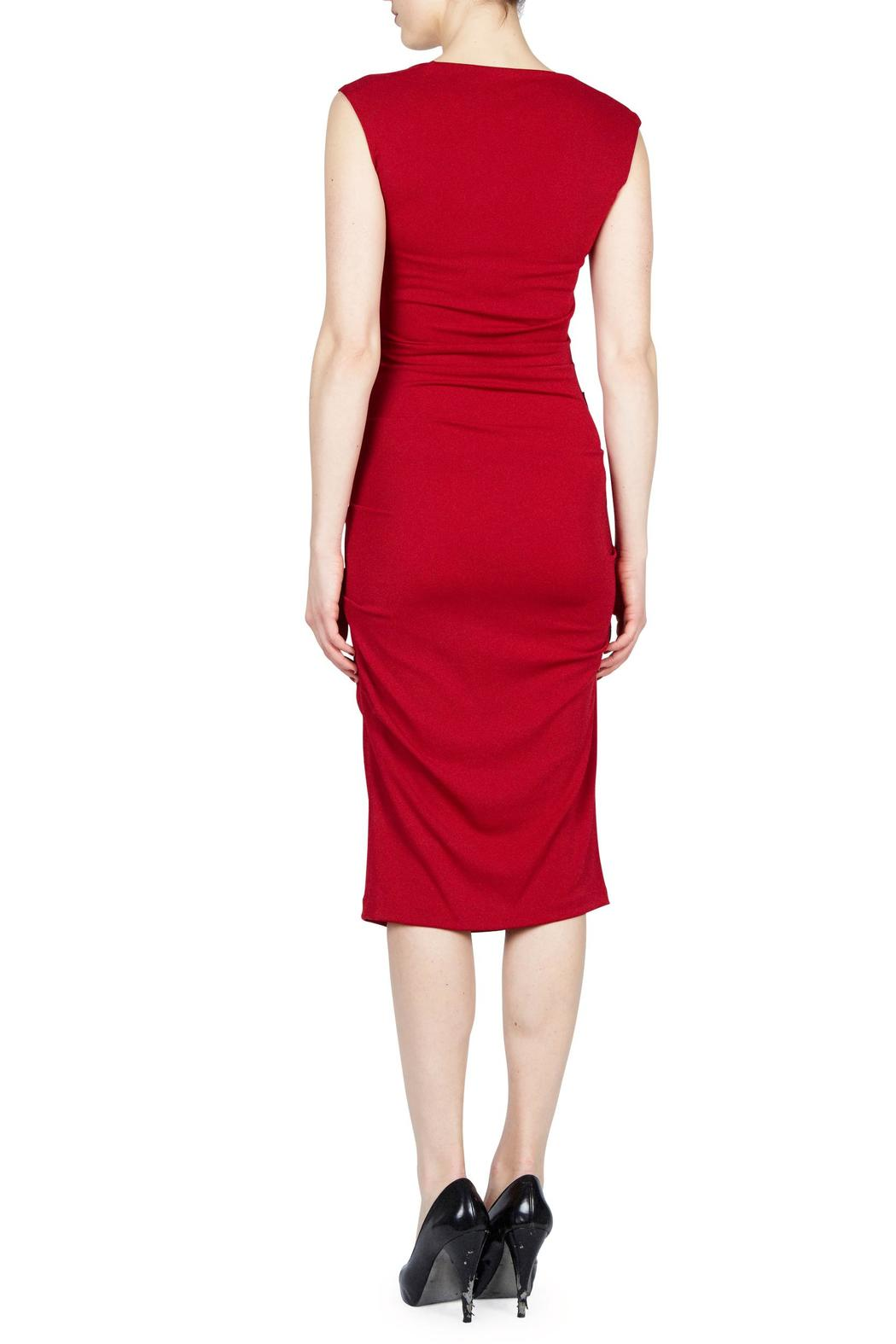 Nicole Miller Felicity Stretch Jersey Dress - Front Full Image