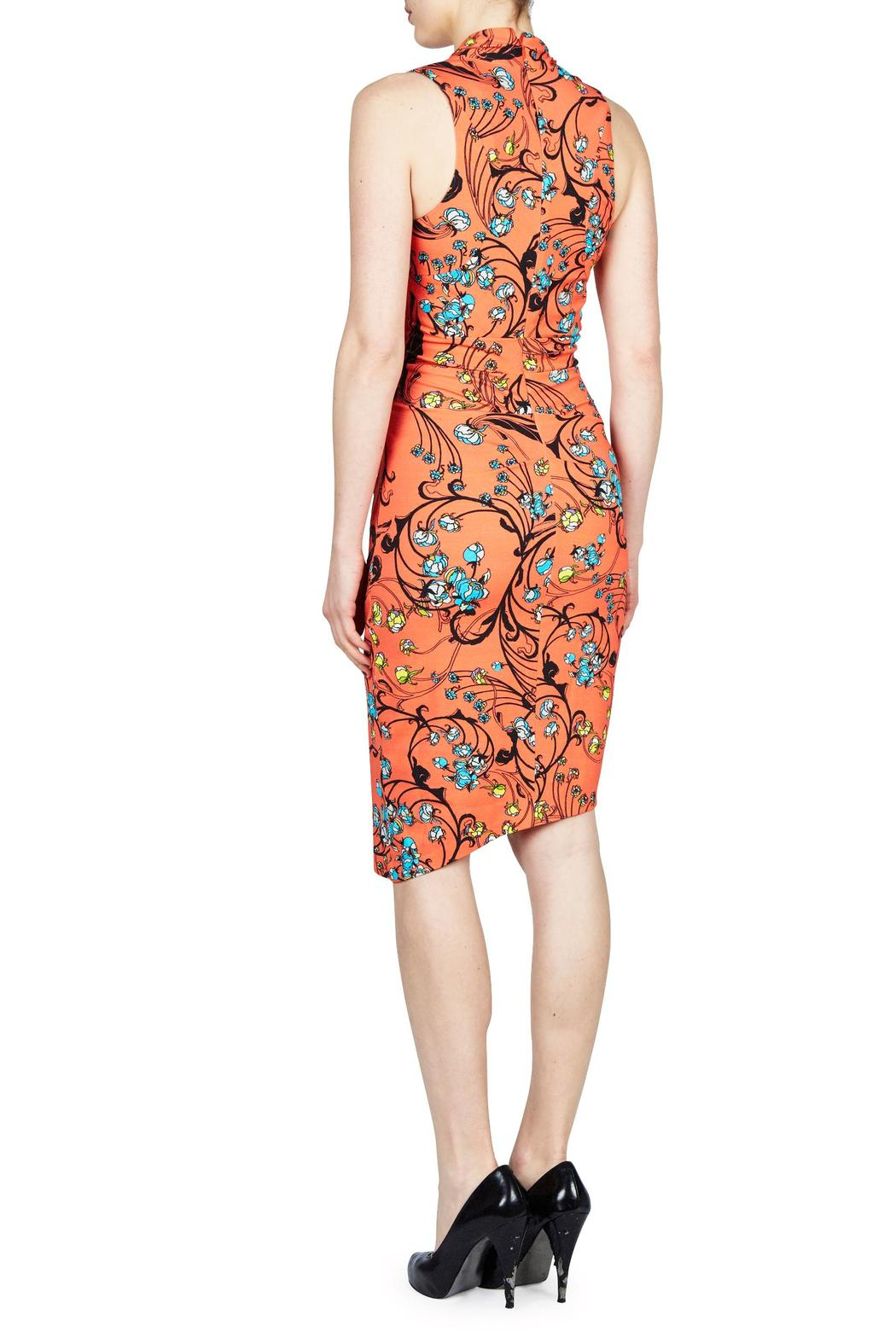 Nicole Miller Floral Swirl Tuck - Front Full Image